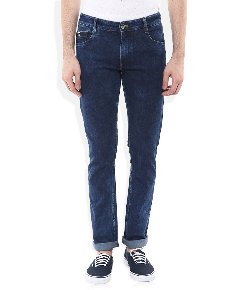 John Players Blue Slim Solid