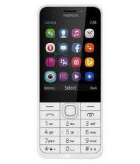 Nokia Nokia 230 Dual Sim ( Below 256 MB Silver White )