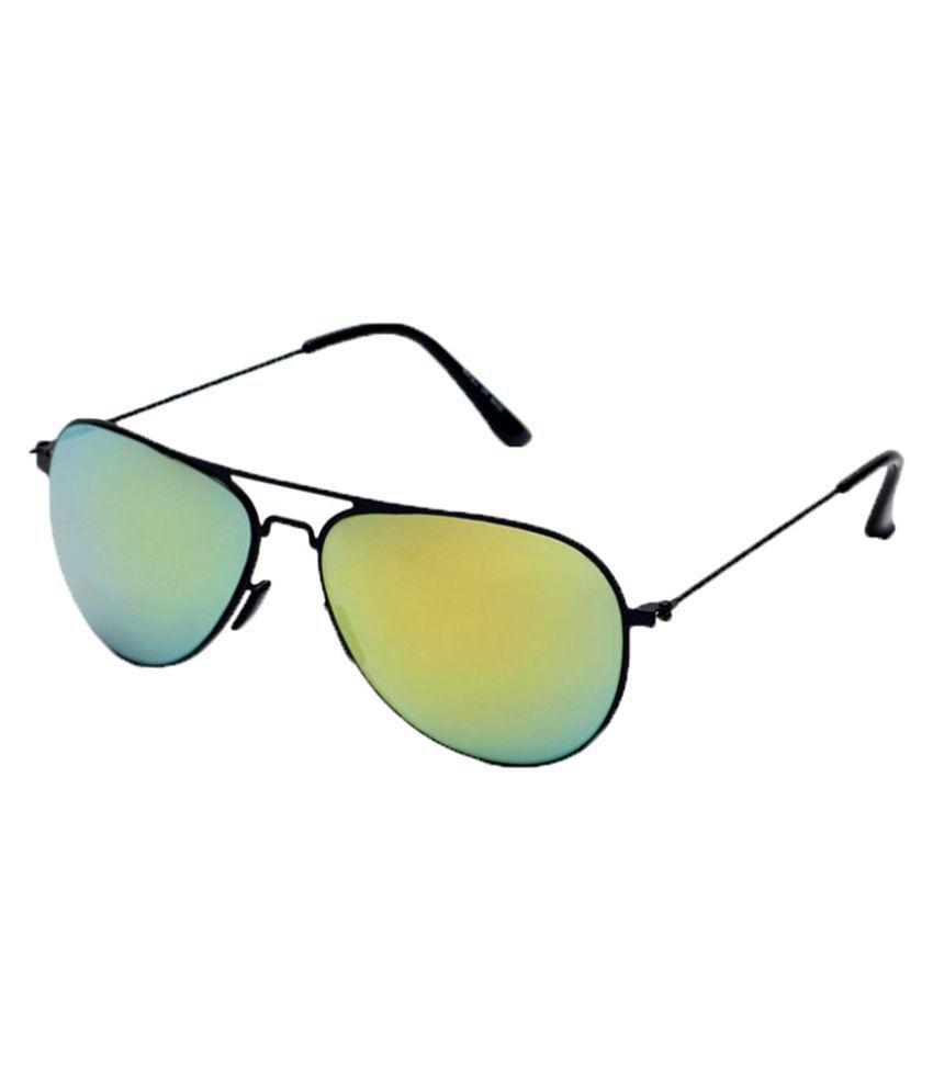 6by6 Yellow Aviator Sunglasses ( SG1500 )