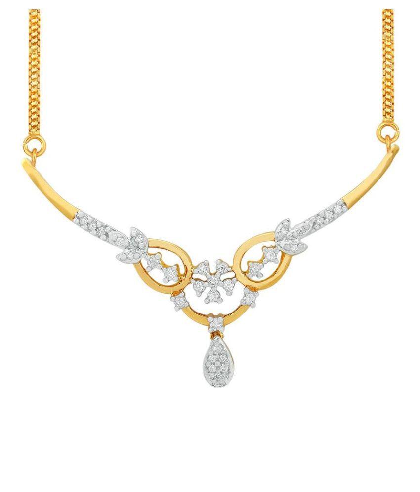 Nakshatra 18Kt BIS Hallmarked Gold Diamond Necklace