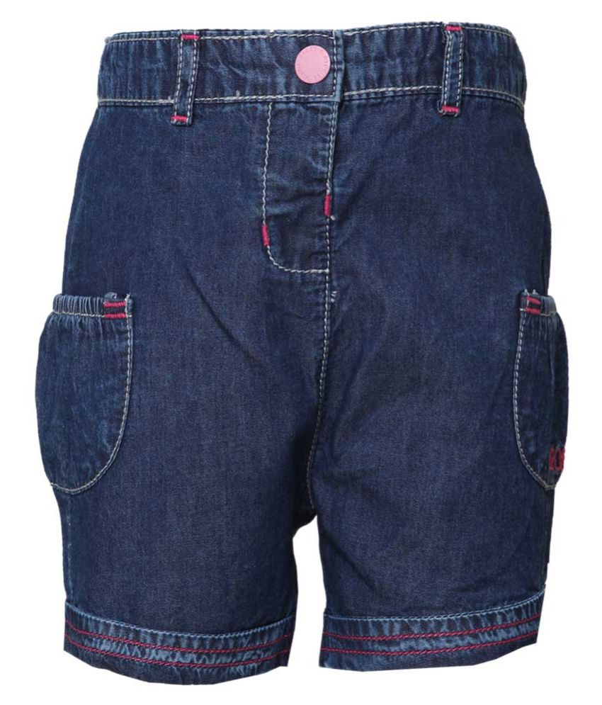 Tales & Stories Navy Denim Short