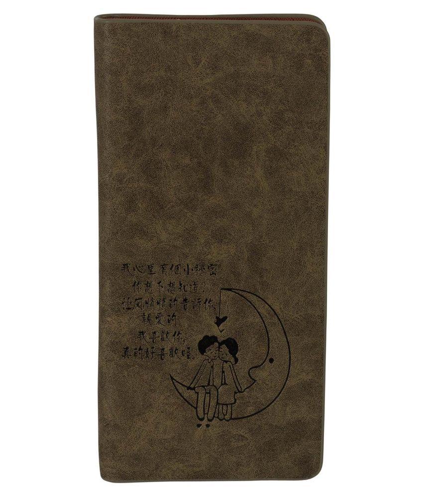 Fine Craft India Brown Wallet