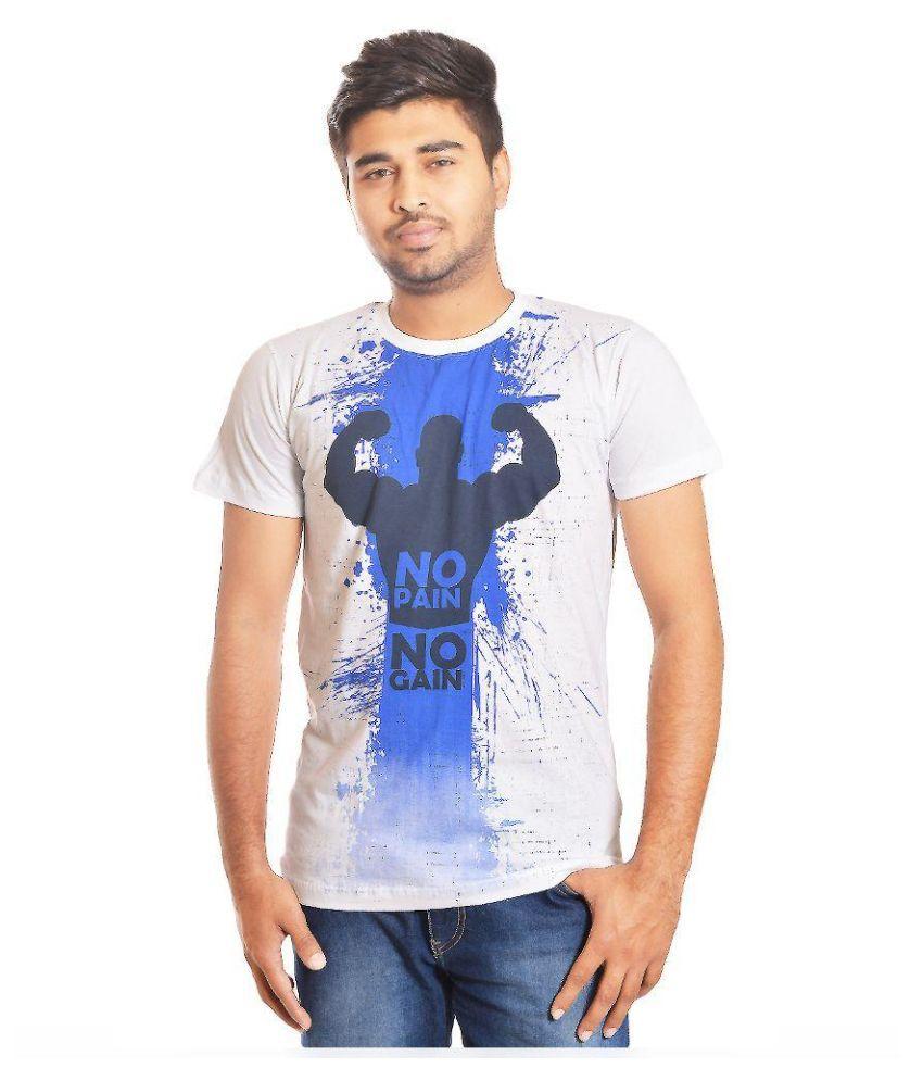 Inkspool White Round T Shirt
