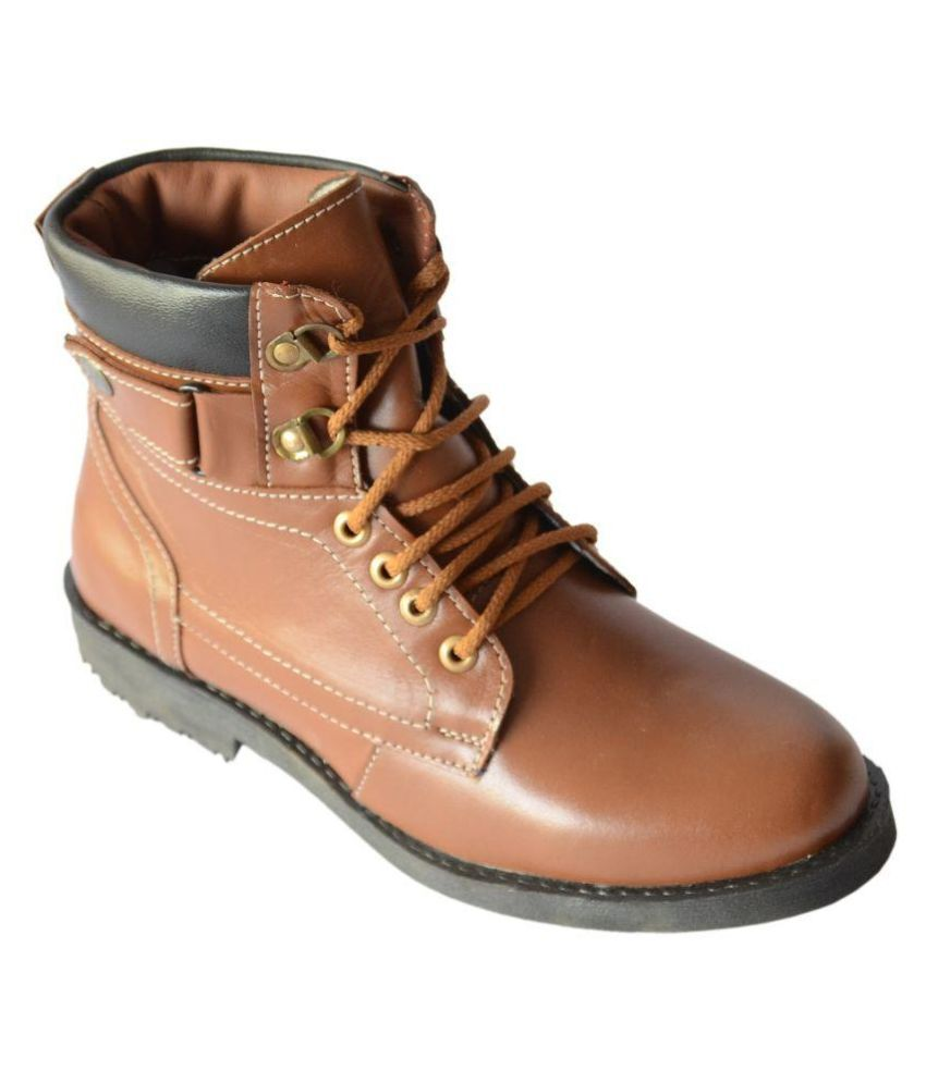 Lee Drive Brown Boots
