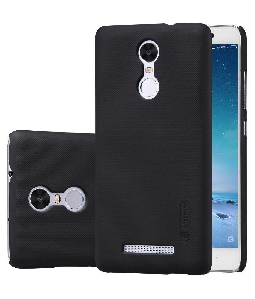 ... Nillkin Super Frosted Shield Hard Back Cover Case for Xiaomi Redmi Note 3 - Black ...