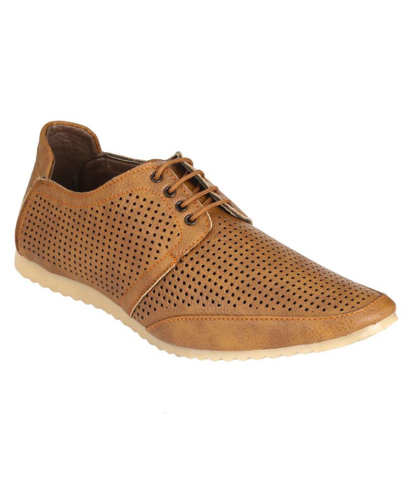 Udenchi Tan Lifestyle Shoes - Buy
