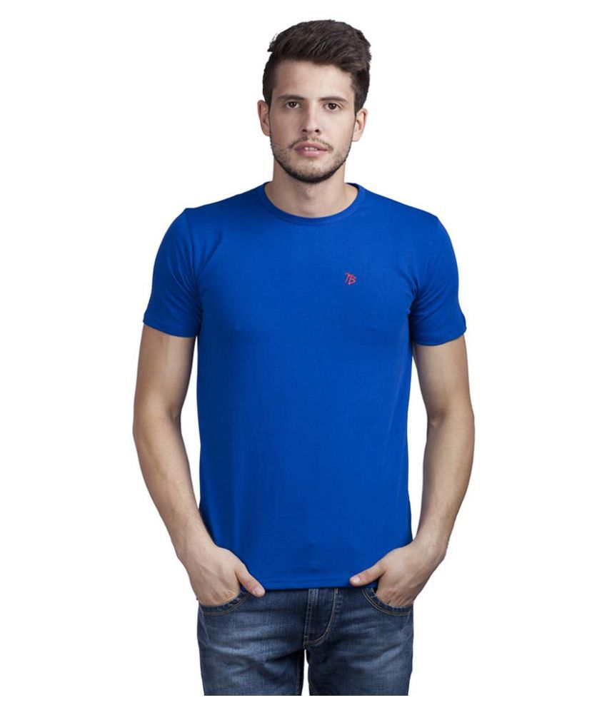 Trendy Bandey Blue V-Neck T Shirt