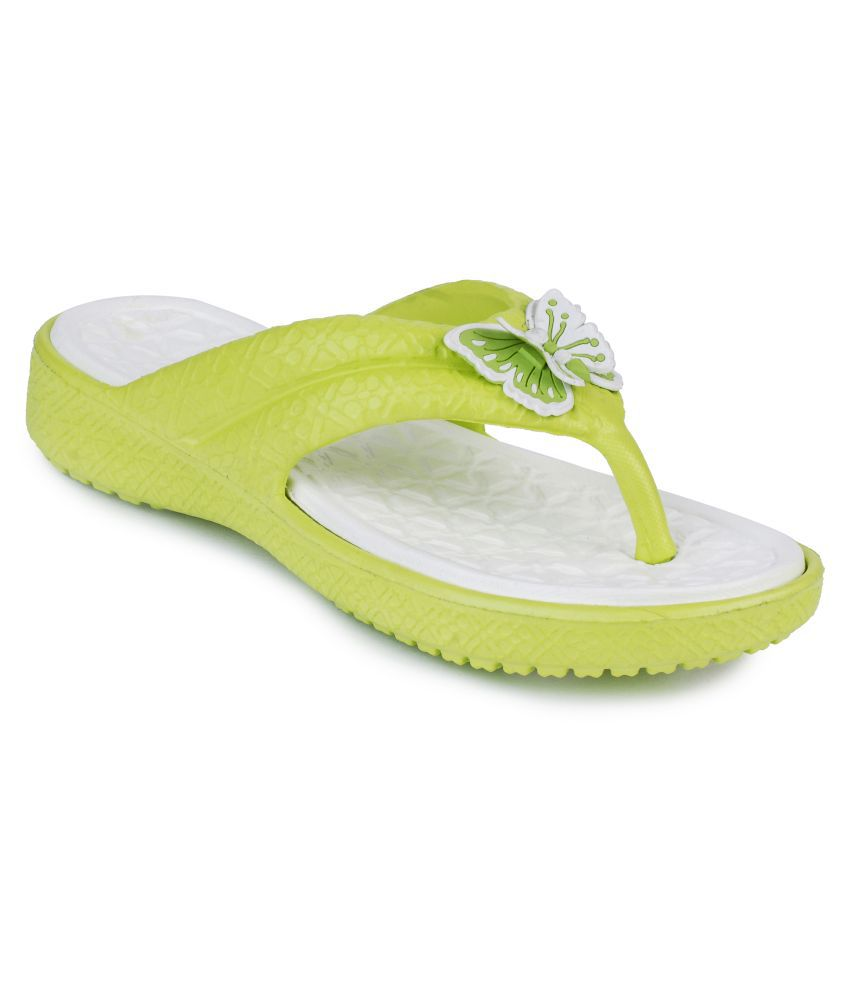 Frestol Green Flip Flops