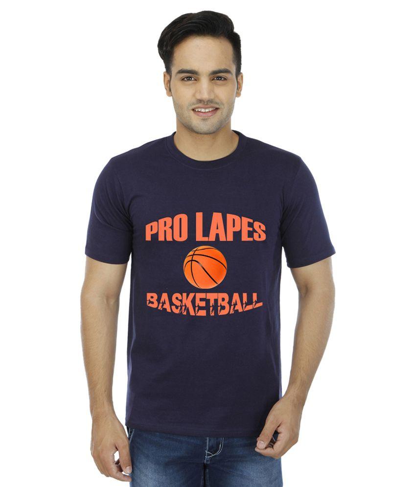 PRO Lapes Navy Round T Shirt