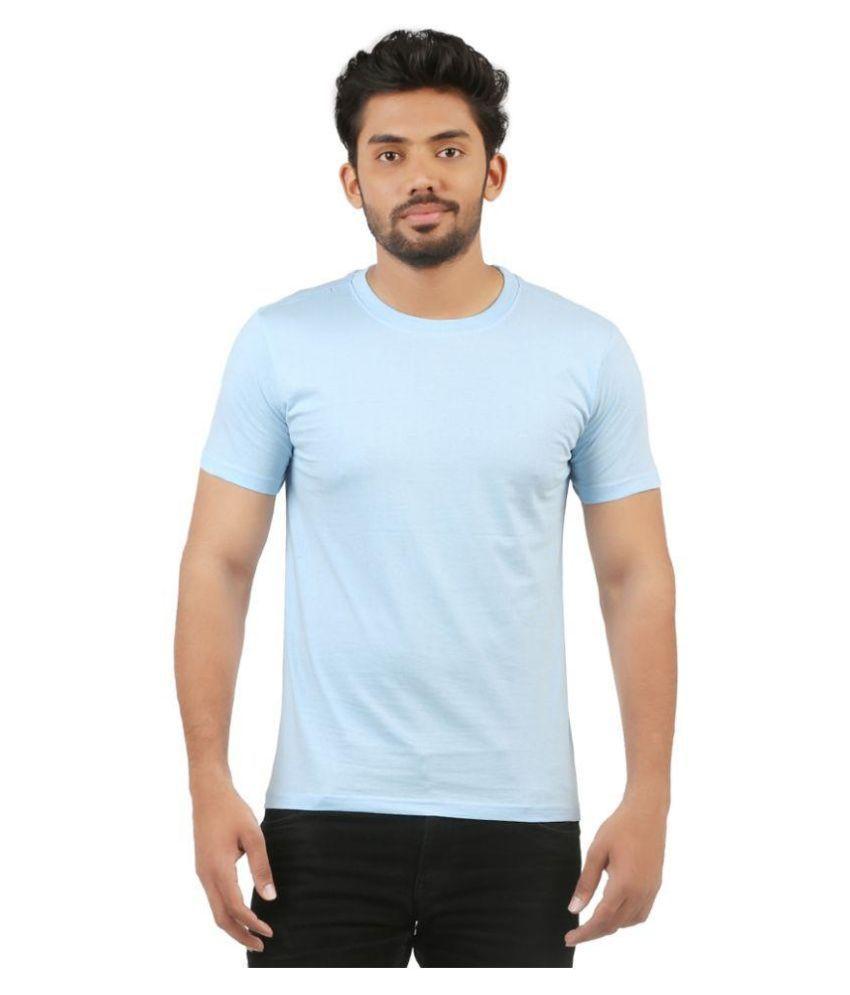 Vuyhaz Blue Round T Shirt