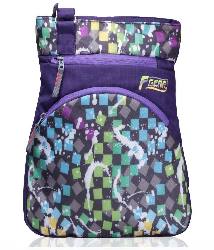 F Gear Callio Ladies Handbag Purple
