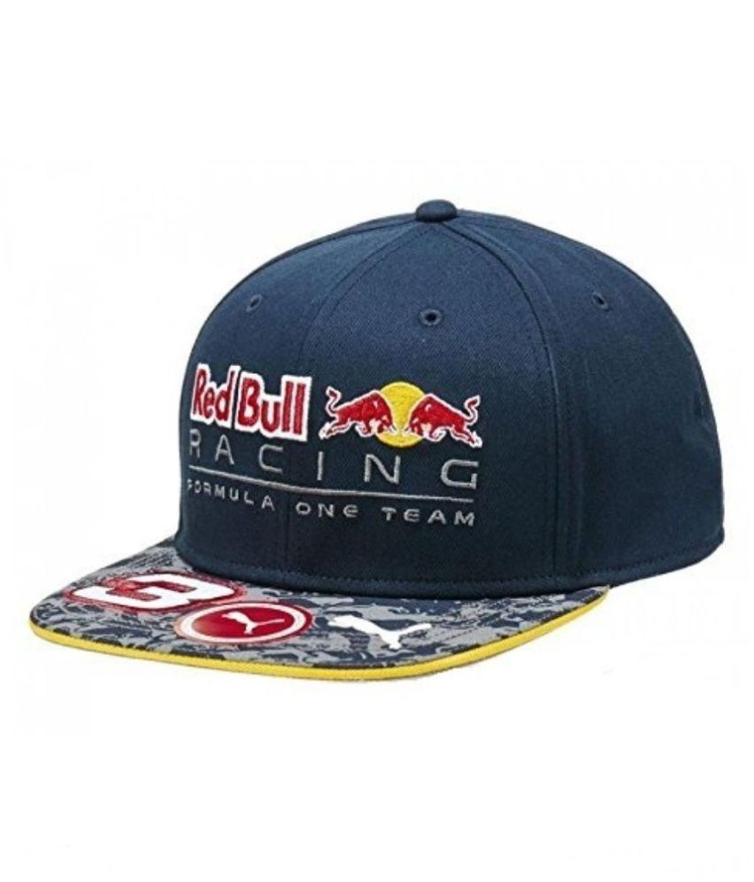 Puma Blue Cotton Red Bull Racing Daniel Ricciardo Cap - Buy Online   Rs.  68d5704eaef