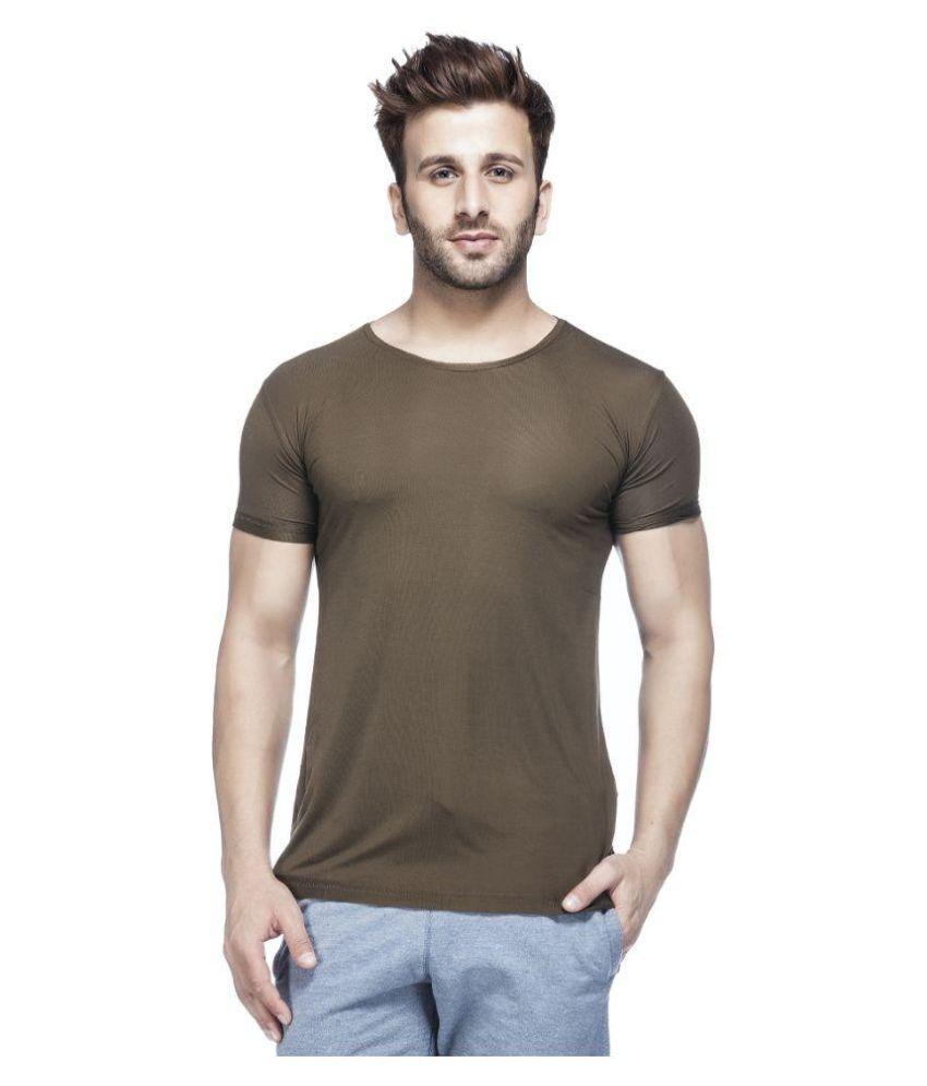 Tinted Green Round T Shirt