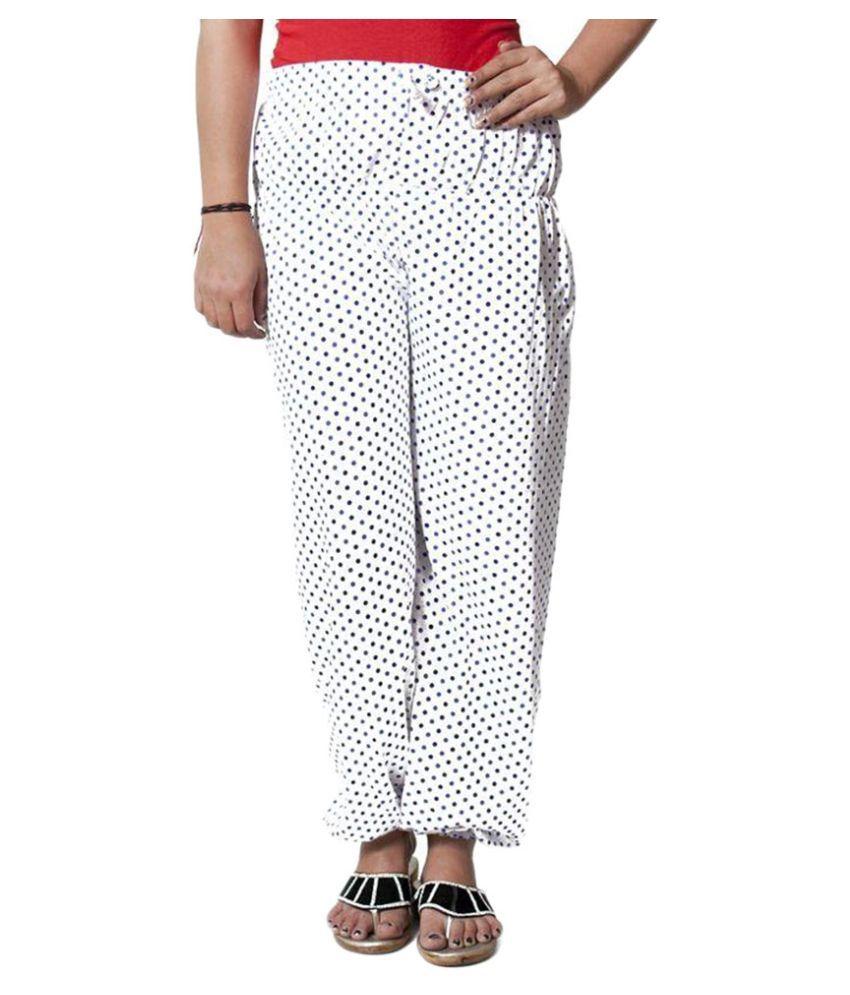 FabPoppy White Cotton Pajamas