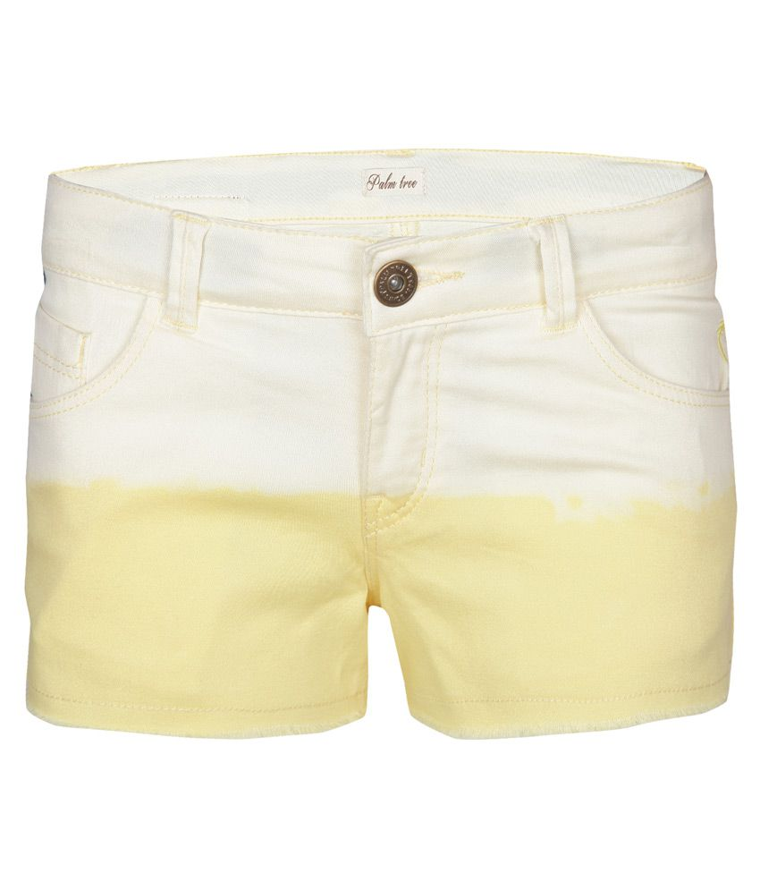 Gini & Jony Yellow Shorts