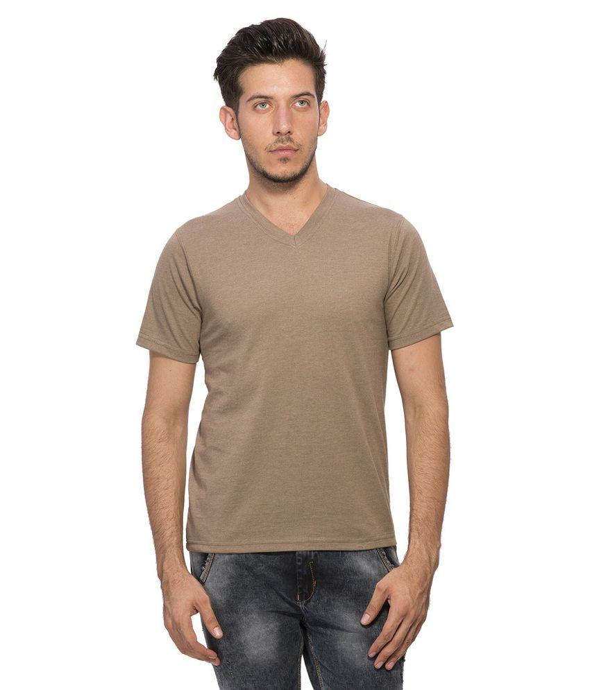 Clifton Brown V-Neck T Shirt