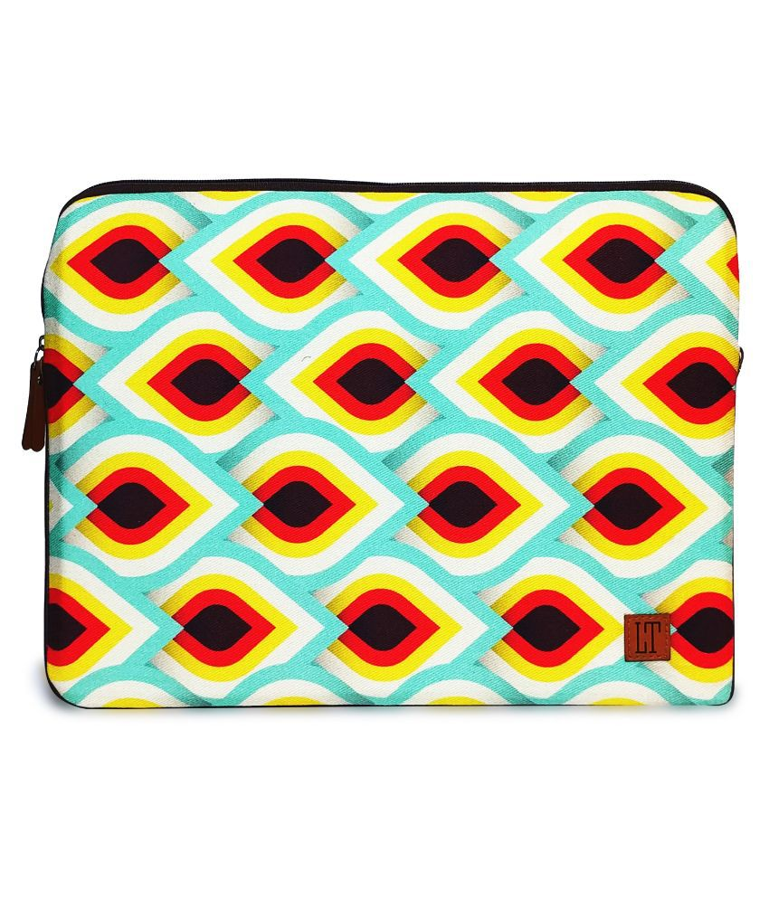 Lemon Trunk Multi Color Canvas Laptop Sleeve