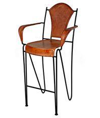 Dezaro Brown Iron Chair