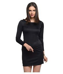 At499 Polyester Bodycon Dresses