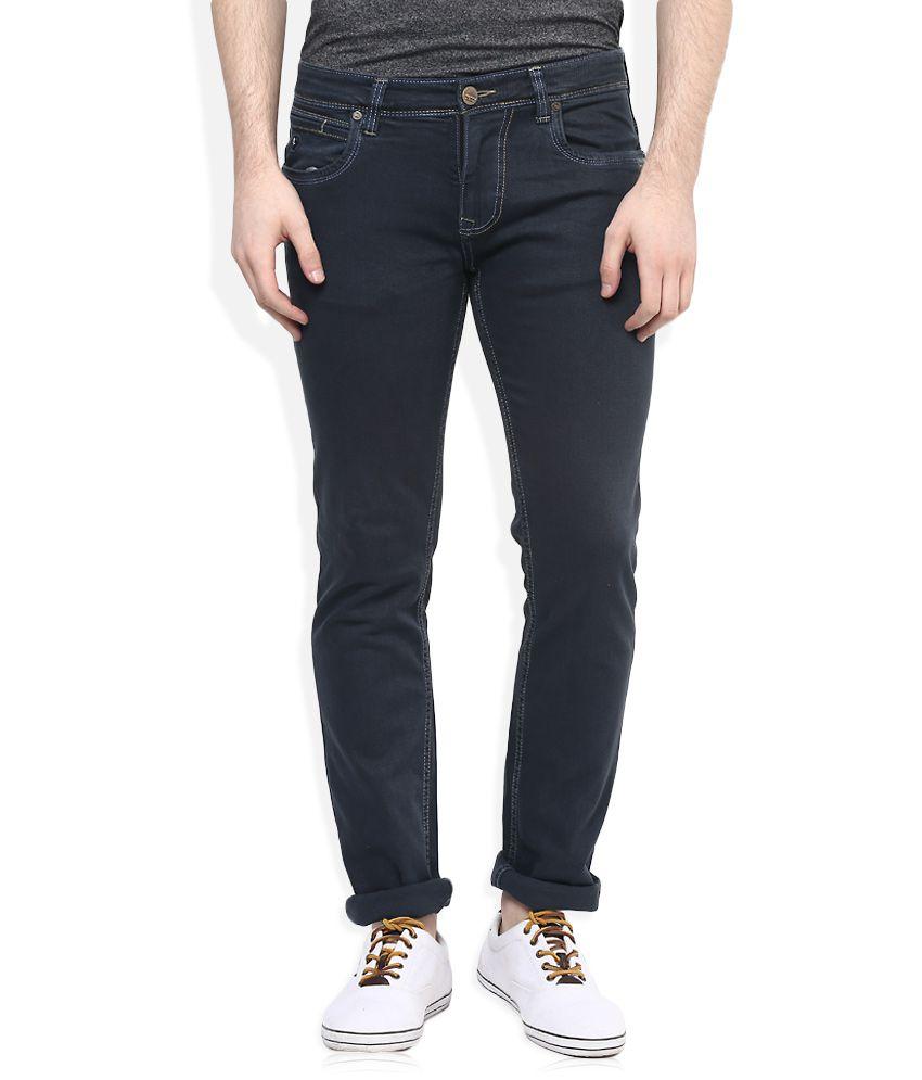 LAWMAN pg3 Grey Regular Fit Basics Jeans