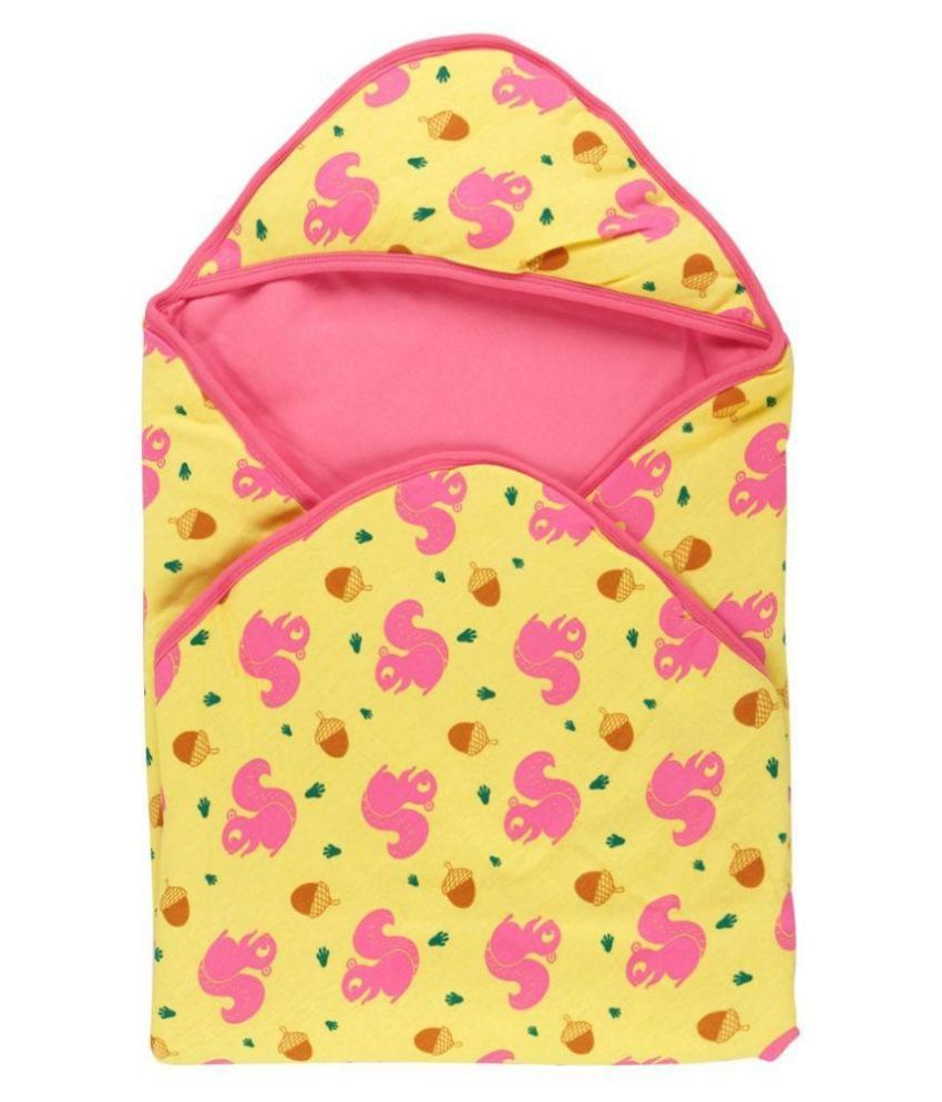 Snuggles Yellow Baby Wraps