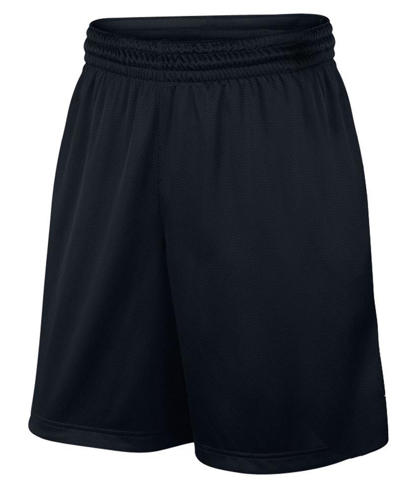 TrendBae Black Polyester Short