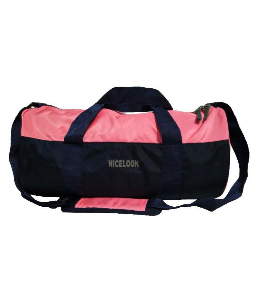 Nicelook pink  Gym Bag