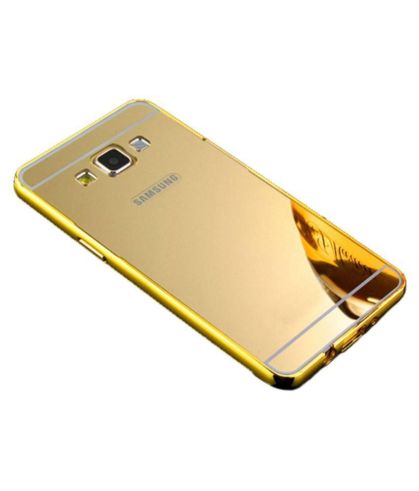more photos f0458 a7c16 Ktc New Golden Mirror Back Cover For Samsung Galaxy A5 (2015) Mobile Phone