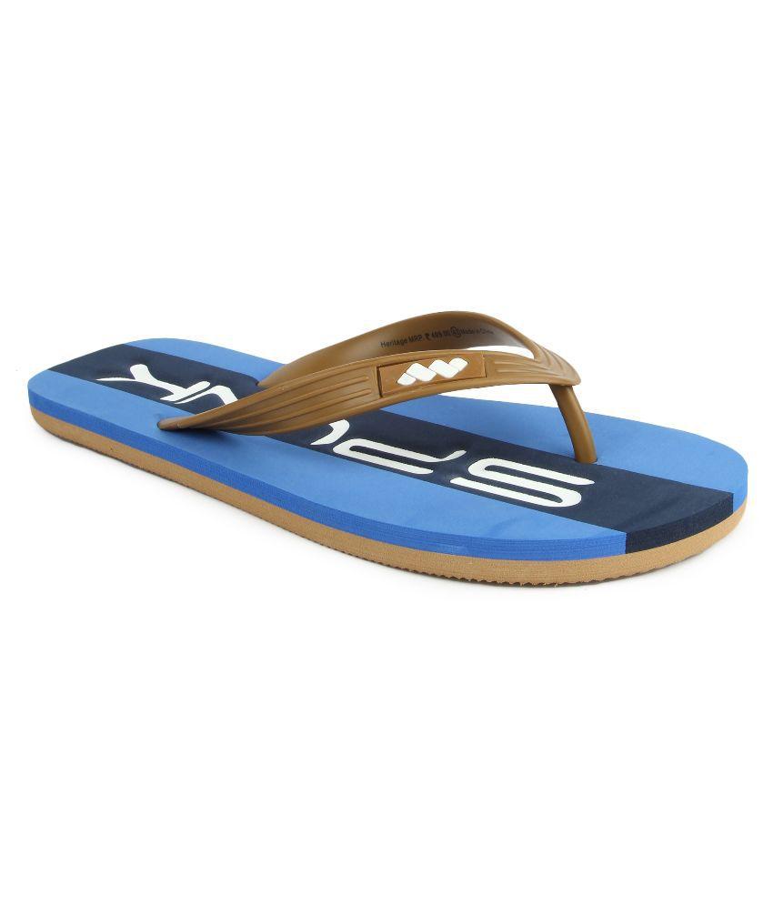 c8a8a83abe80 Spunk Brown Flip Flops Price in India- Buy Spunk Brown Flip Flops Online at  Snapdeal