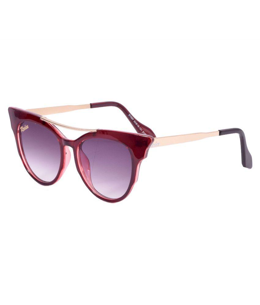 Redex Purple Cat Eye Sunglasses ( 1017 )