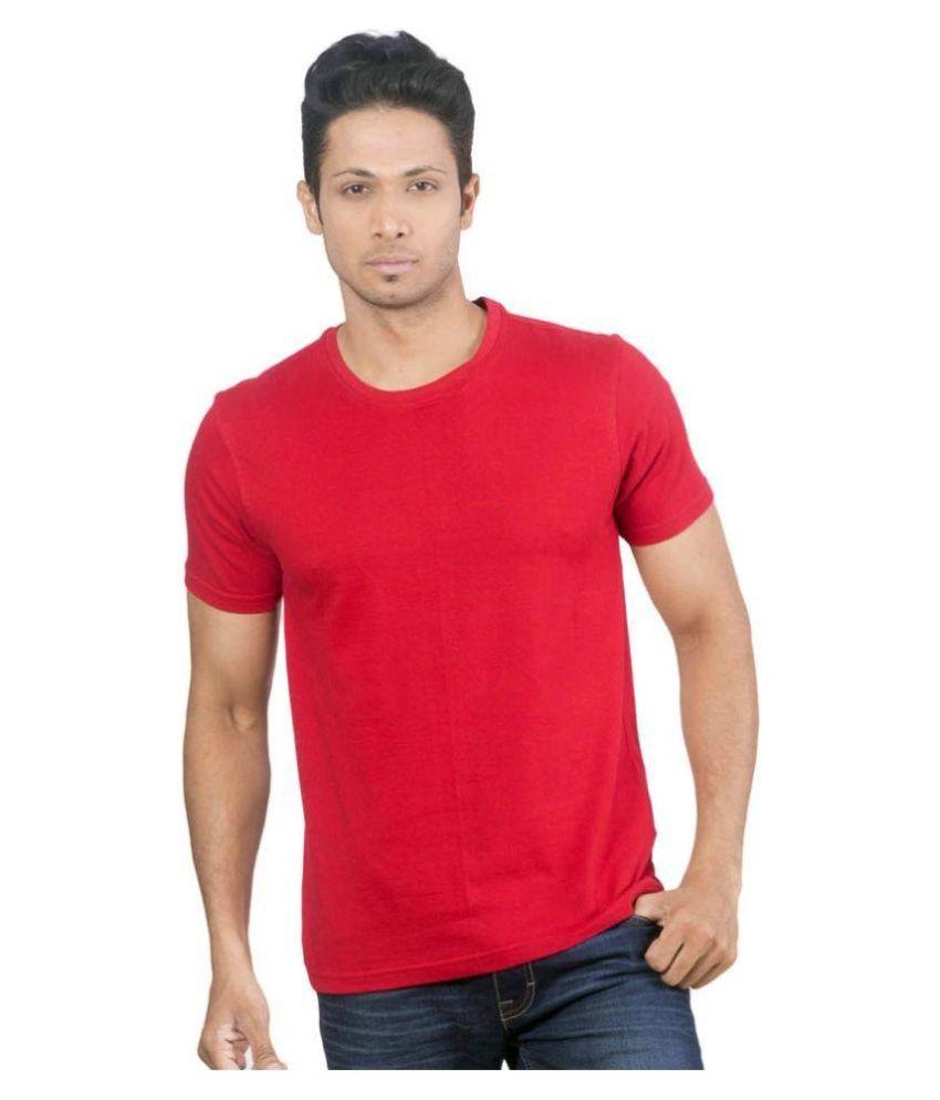 PI World Red Round T Shirt