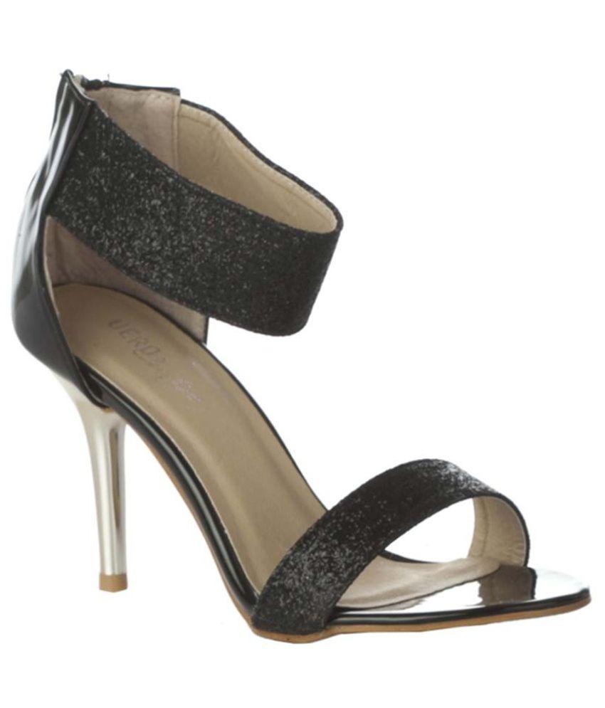 Vero Couture Black Stiletto Heels