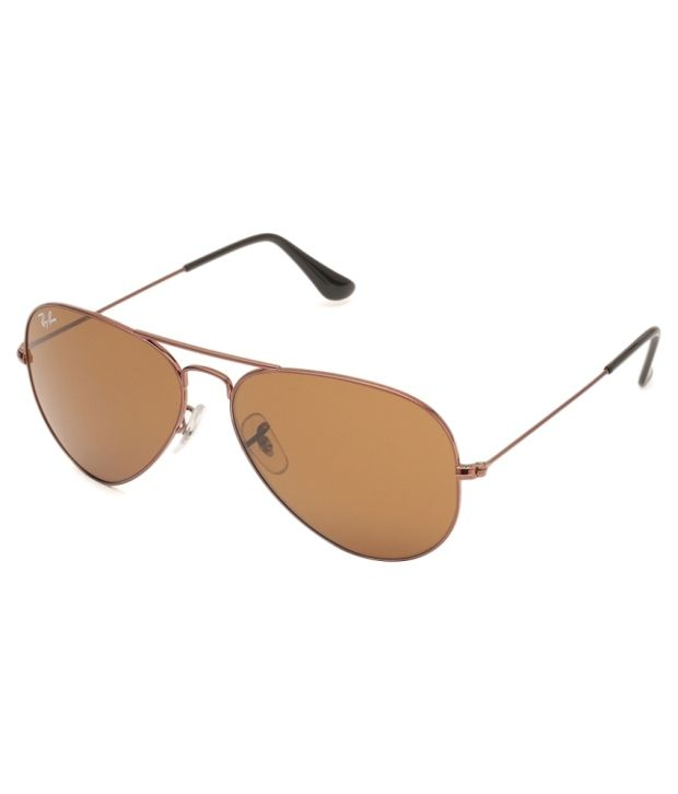 ef0d6956fd1 Ray-Ban Brown Aviator Sunglasses (RB3025 R1072 58-14) - Buy Ray-Ban Brown  Aviator Sunglasses (RB3025 R1072 58-14) Online at Low Price - Snapdeal