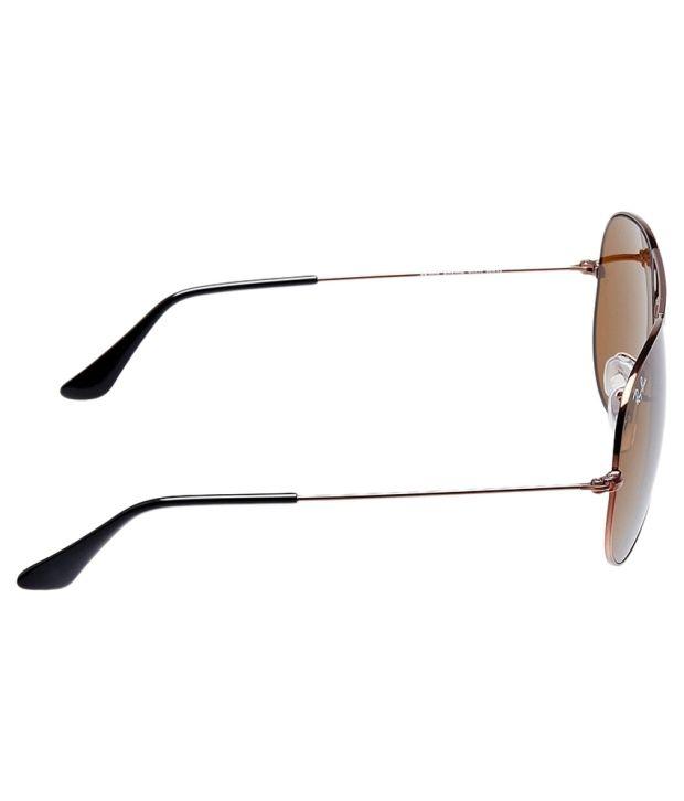 6de37eea52b Ray-Ban Brown Aviator Sunglasses (RB3025 R1072 58-14) - Buy Ray-Ban ...