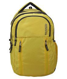 American Tourister 96W-0-06004 Yellow 30 Polyester Casual Backpack
