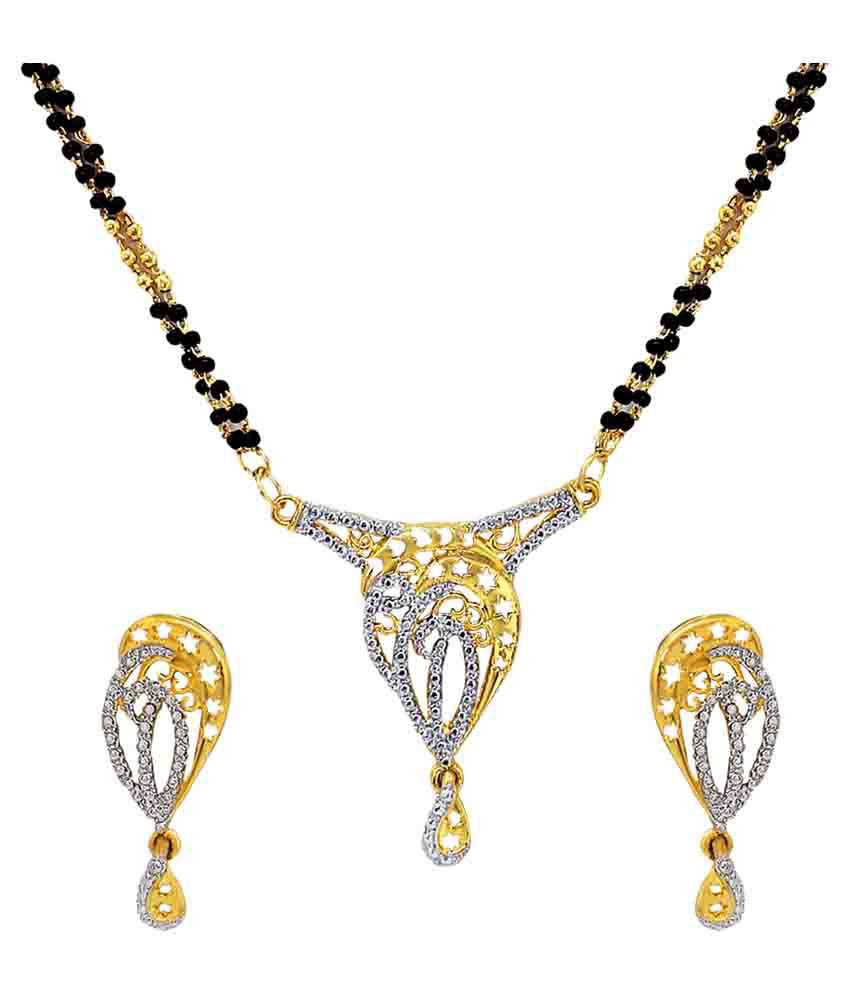 Atasi International Multicolour Mangalsutra Set