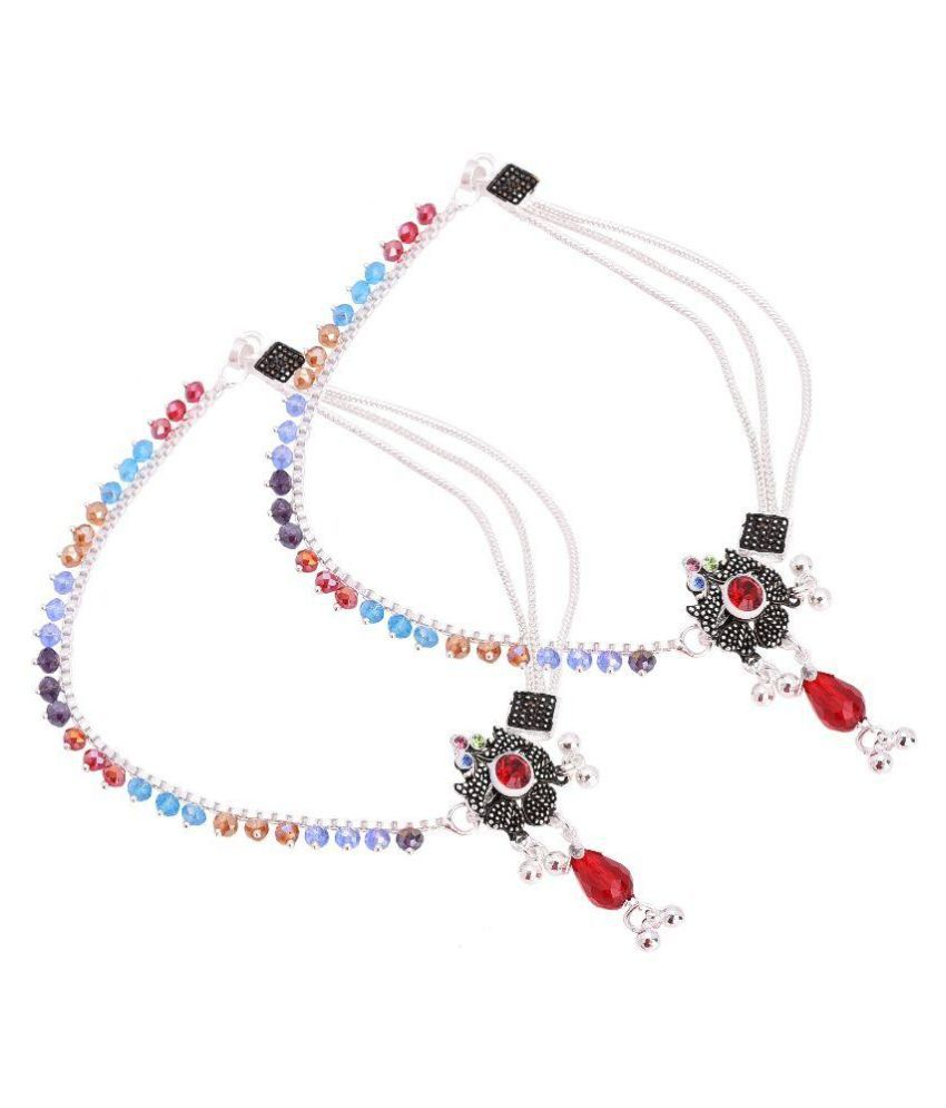 M4U Fashion Multi Color Anklet