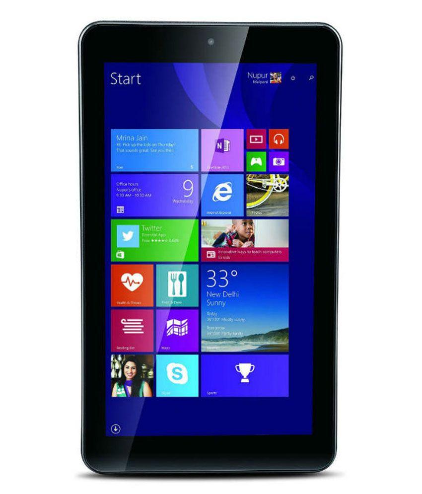 iBall i701 with Windows 10 (3G via Dongle, Black)