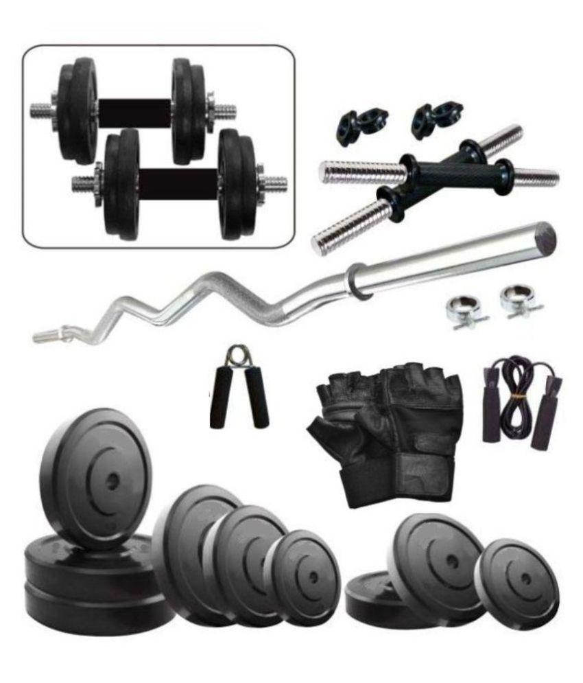 total gym 25kg combo home gym set buy online at best price on snapdeal. Black Bedroom Furniture Sets. Home Design Ideas