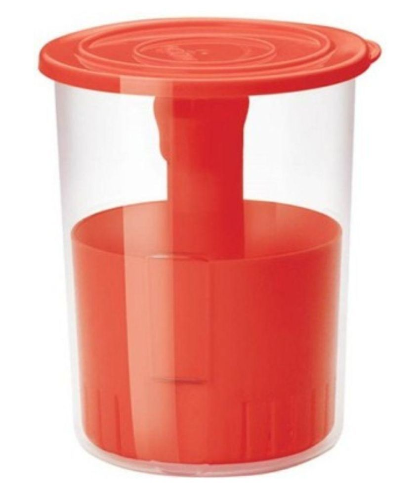 Stardeep Pickle Container/Jar/Pot - 515 Polyproplene Pickle Container Set of 2