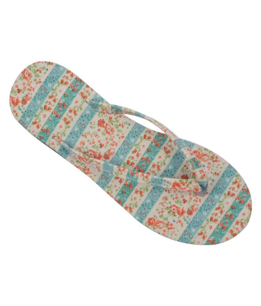 HVE Multi Color Flip Flops