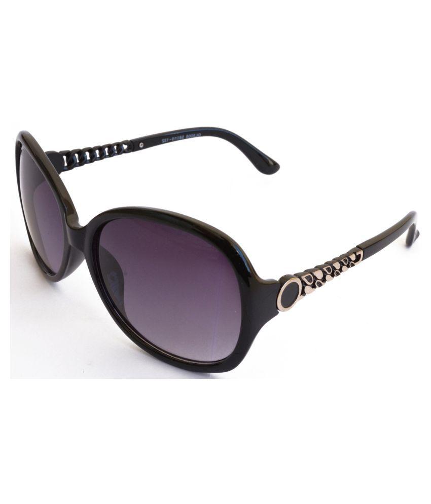 Pumawrap Black Bug Eye Sunglasses ( ZipB1 )