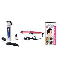 Style Maniac NHC-1818: NHC-8004 Hair Straightener Pink