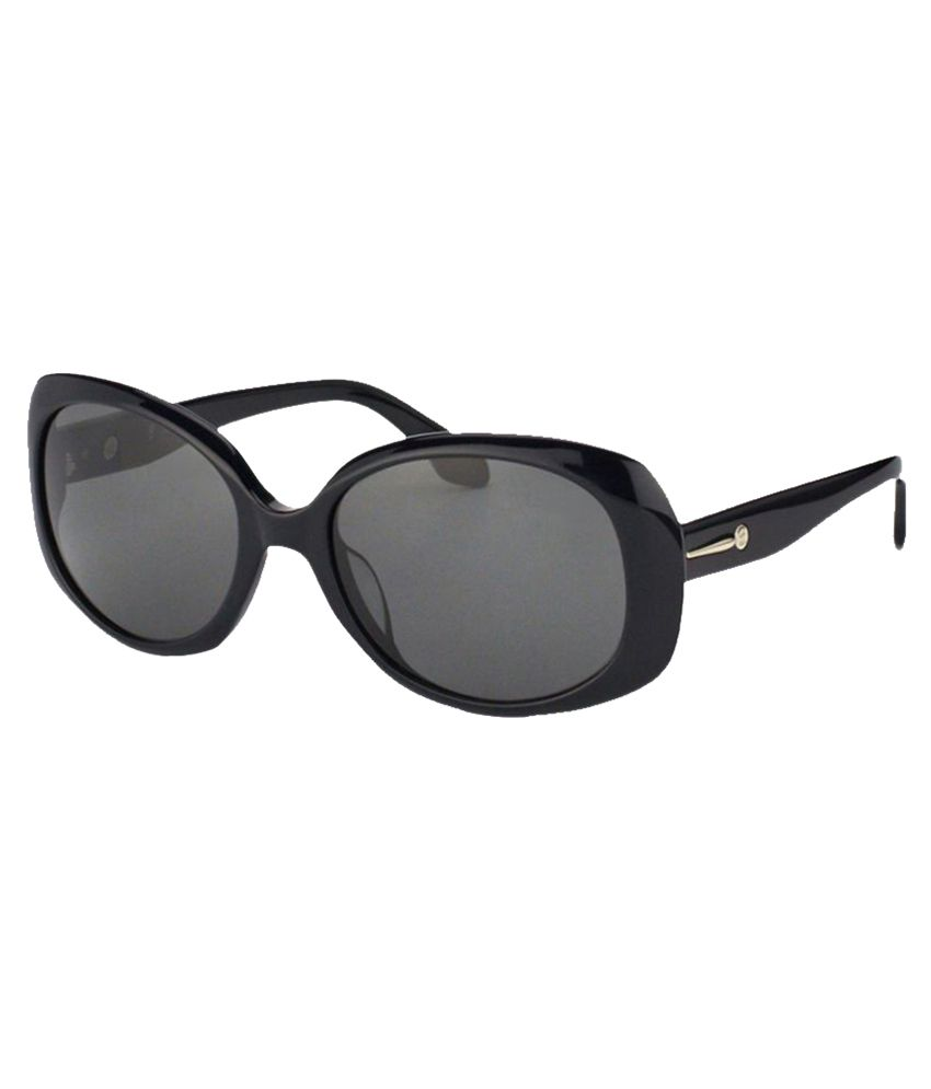 Calvin Klein Gray Oval Sunglasses ( CK-4182-S-002 ) By SNapdeal @ Rs.7,493