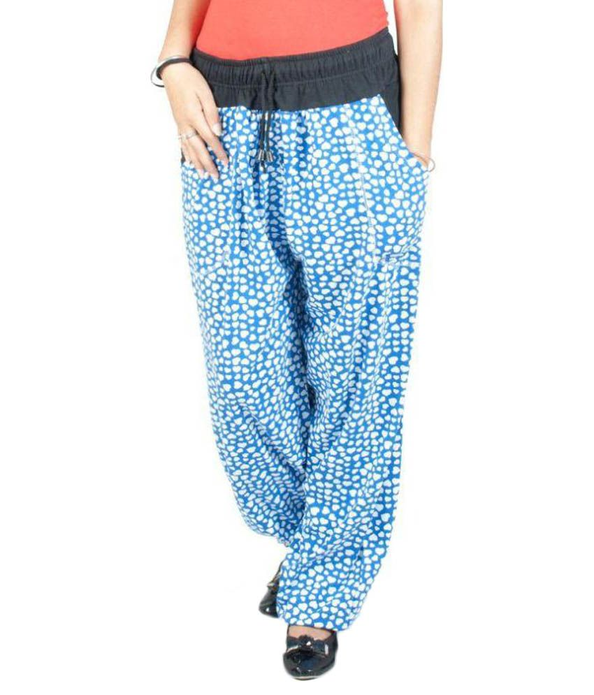 FabPoppy Blue Cotton Pajamas