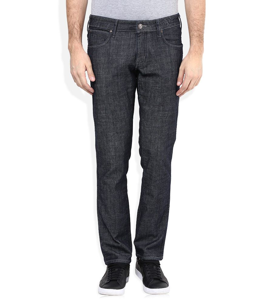 Wrangler Black Rockville Regular Fit Jeans