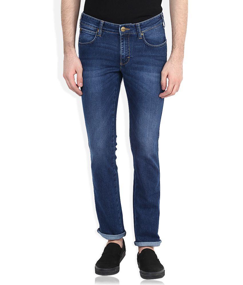 Wrangler Blue Skanders Slim Fit Jeans