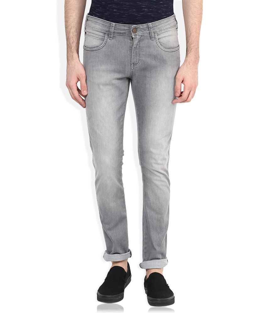 2f008a1b3e Wrangler Grey Vegas Skinny Fit Jeans - Buy Wrangler Grey Vegas Skinny Fit  Jeans Online at Best Prices in India on Snapdeal