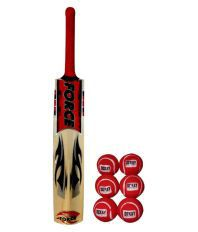 Force Force Bat with Ball Poplar Willow Bat