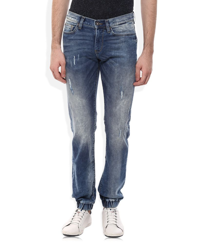 Celio Grey Regular Fit Jeans